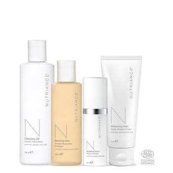 Nutriance Organic Set Man, Combination to Oily skin